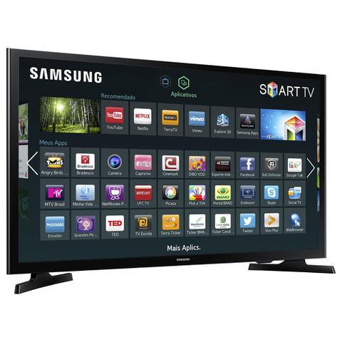 Imagem de Smart TV LED 40 Full HD Samsung UN40J5200 2 HDMI 1 USB Wi-Fi Integrado Conversor Digital