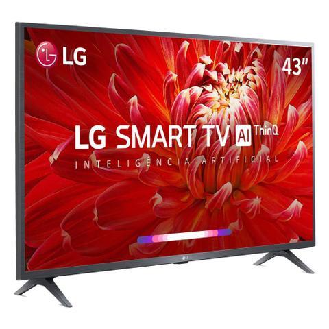 Imagem de Smart TV LED 43 LG 43LM6300PSB Full HD Wi-Fi HDMI Conversor