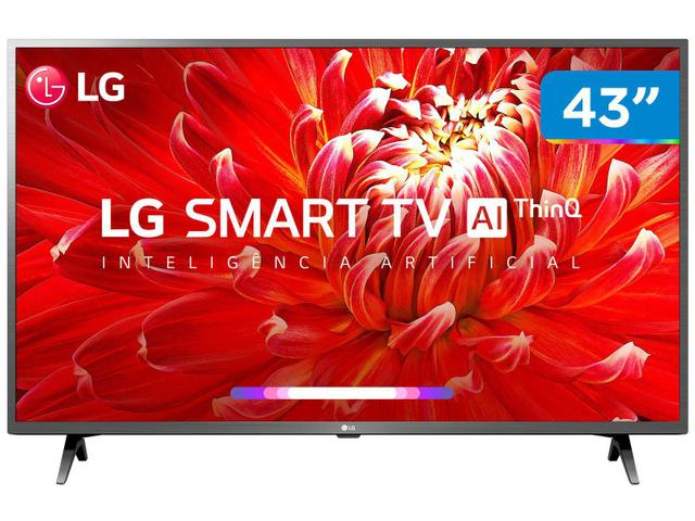 """Imagem de Smart TV LED 43"""" LG 43LM6300PSB Full HD Wi-Fi"""