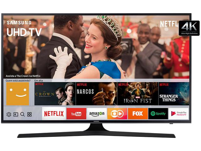 "Imagem de Smart TV LED 43"" Samsung 4K/Ultra HD 43MU6100"