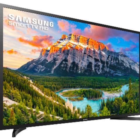 Imagem de Smart tv led 43'' samsung j5290 full hd - wi-fi conversor digital