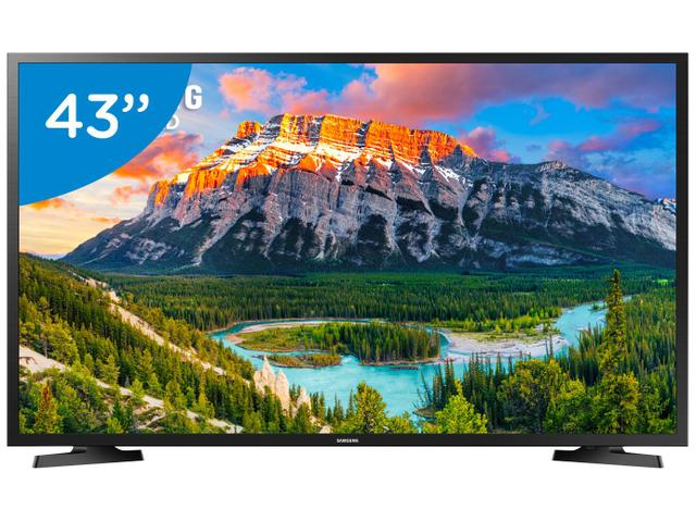 "Imagem de Smart TV LED 43"" Samsung Series 5 J5290 Full HD Wi-Fi 2 HDMI 1 USB"