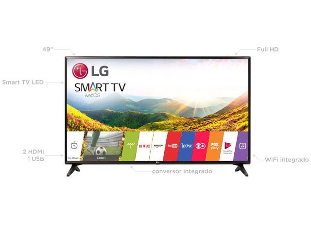 """Imagem de Smart TV LED 49"""" LG Full HD 49LJ5550 WebOS"""