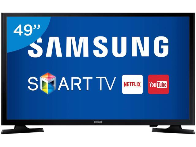 "Imagem de Smart TV LED 49"" Samsung Full HD J5200"
