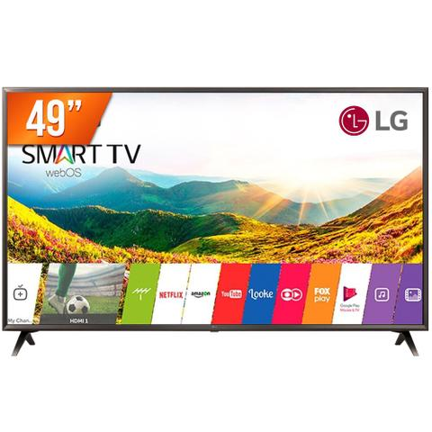 Imagem de Smart TV LED 49 Ultra HD 4K LG 49UK6310 HDMI USB Wi-Fi Conversor Digital Integrado