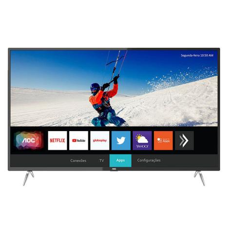 Imagem de Smart TV LED 4K AOC 50U6295 50 Polegadas UHD 4 HDMI USB Wi-Fi Integrado