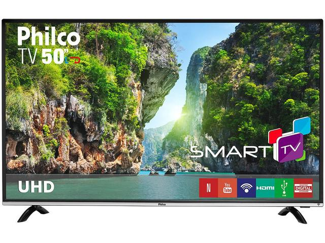 "Imagem de Smart TV LED 50"" Philco 4K/Ultra HD PTV50F60SN"