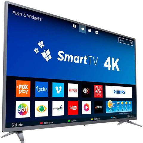 Imagem de Smart TV LED 50 Polegadas Philips 50PUG6513 Ultra HD 4K Wi-Fi 3 HDMI 1 USB