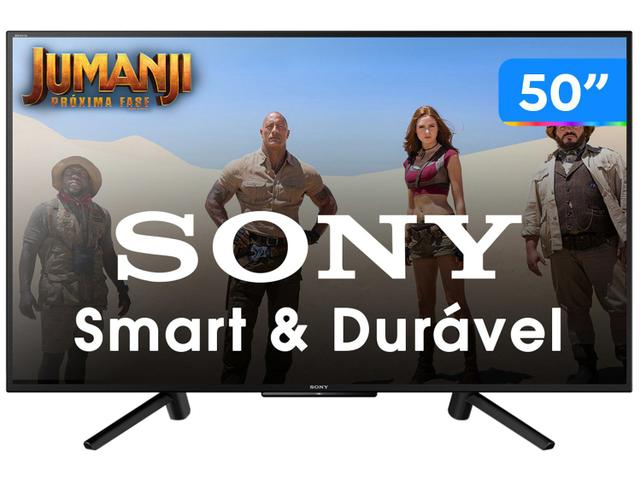 "Tv 50"" Led Sony Full Hd Smart - Kdl-50w665f"