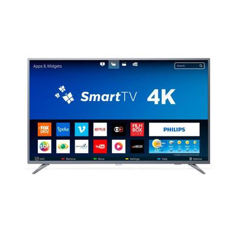 Imagem de Smart TV LED 55 Polegadas Philips 55PUG6513 4K USB 3 HDMI