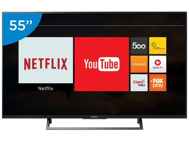 "Imagem de Smart TV LED 55"" Sony 4K/Ultra HD KD-55X705E"