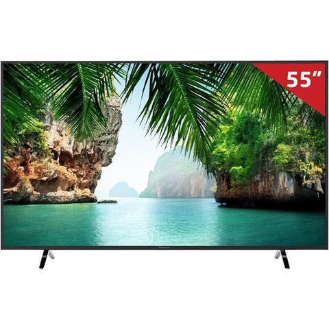 "Tv 55"" Led Panasonic 4k - Ultra Hd Smart - Tc-55gx500b"