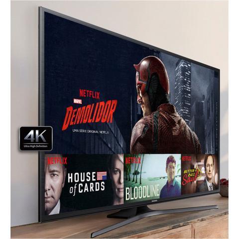 Imagem de Smart Tv Led 60 polegadas Ultra HD 4k com Usb Hdmi Wi-Fi integrado - Samsung