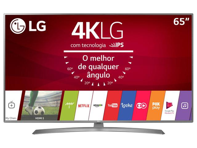 "Imagem de Smart TV LED 65"" LG 4K/Ultra HD 65UJ6585 WebOS"