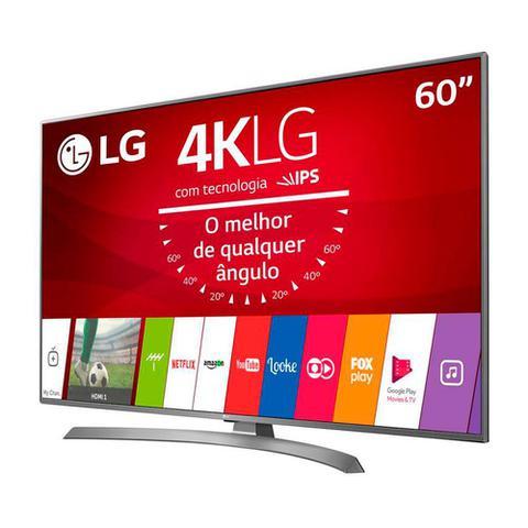Imagem de Smart TV LED LG 60 Polegadas Ultra Slim 4K DTV HDMI 2 USB 60UJ6585