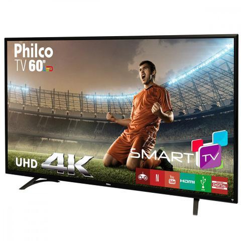 Imagem de Smart Tv Led Philco 60 Polegadas Ultra 4K Wi-Fi PH60D16DSGWN