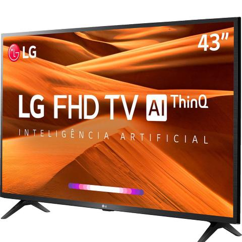 Imagem de Smart TV LED PRO 43'' Full HD LG 43LM 631 3 HDMI 2 USB Wi-fi Conversor Digital