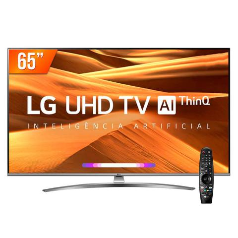 Imagem de Smart TV LED PRO 65'' Ultra HD 4K LG 65UM 761 4 HDMI 2 USB Wi-fi Conversor Digital
