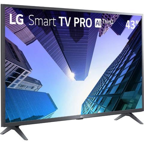 Imagem de Smart TV LG AI Full HD LED 43 43LM631C0SB  Bivolt
