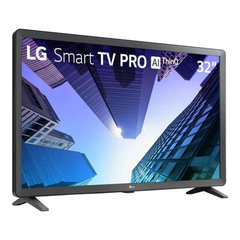 Imagem de Smart TV LG LED 32 HD Wi-Fi Bluetooth USB HDMI 32LM621CBSB.AWZ