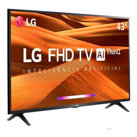 Imagem de Smart TV LG LED 43 FHD HDMI USB Bluetooth Wi-Fi ThinQ AI 43LM631C0SB.BWZ