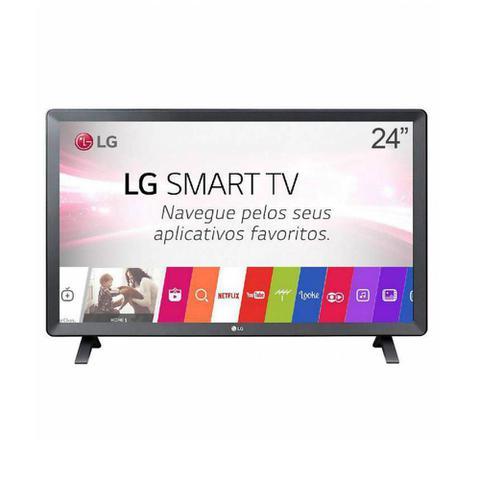 Imagem de Smart Tv Monitor Lg 24 Pol Led Tl520s Webos 3.5 Dtv Bivolt