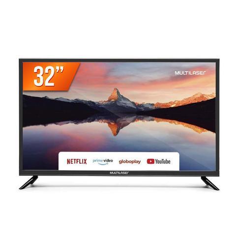 """Tv 32"""" Led Multilaser Hd Smart - Tl011"""