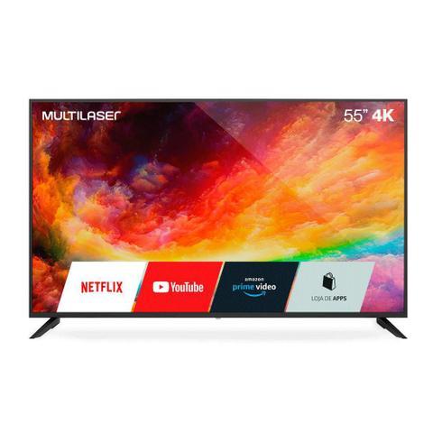 "Tv 55"" Led Multilaser 4k - Ultra Hd - Tl025"