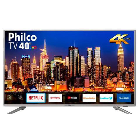 Imagem de Smart TV Philco 40 Polegadas Led 4K 40PTV40G50SNS Prata