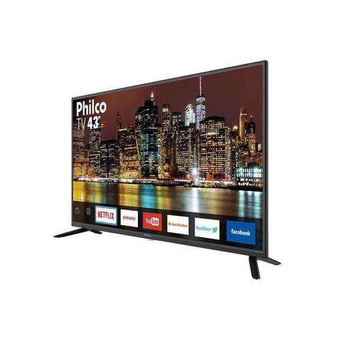 Imagem de Smart TV Philco 43 TV43G50SN LED Full HD USB HDMI Cinza Bivolt