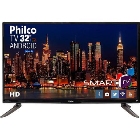 Imagem de Smart TV Philco Led 32 Polegadas HD com Conversor Digital Integrado PH32C10DSGWA