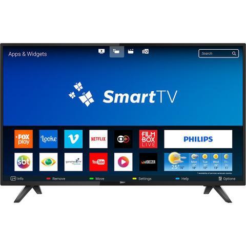 Imagem de Smart Tv Philips Led 43 Full Hd 2 Usb 2 Hdmi Wi-fi 43pfg5813