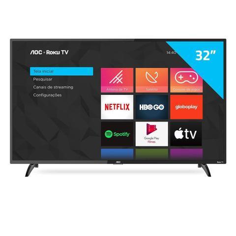 Imagem de Smart Tv Roku Led 32 Polegadas Com Wifi Aoc
