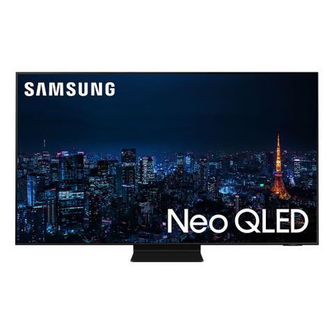 Imagem de Smart TV Samsung Neo QLED 4K 55QN90A Design slim Mini Led Processador IA Som em Movimento Plus