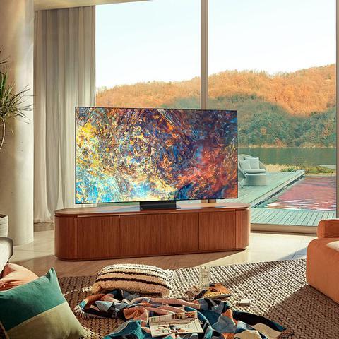 Imagem de Smart TV Samsung Neo QLED 4K 65QN90A Design Slim Mini Led Processador IA Som em Movimento Plus