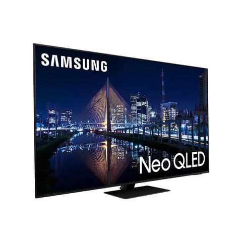 Imagem de Smart TV Samsung Neo QLED 4K 85QN85A Design Slim Mini Led Processador IA Som em Movimento