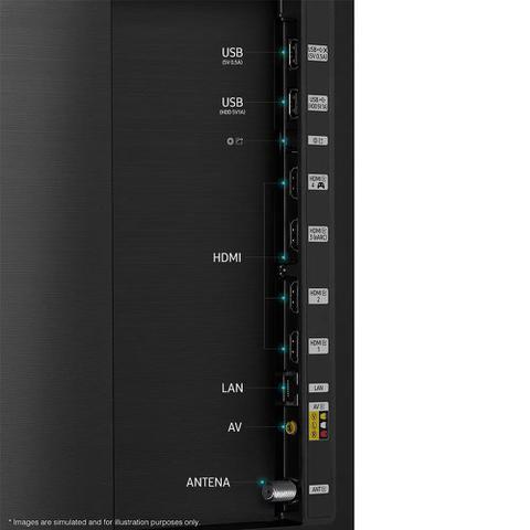 Imagem de Smart TV Samsung QLED 4K 55Q80A Modo Game Processador IA Som em Movimento Visual Livre de Cabos