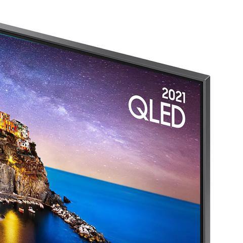 Imagem de Smart TV Samsung QLED 4K 65Q70A Design Slim Modo Game Som em Movimento Virtual Tela Sem Limites