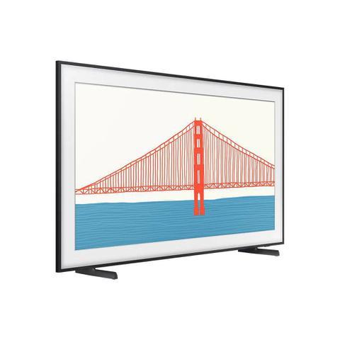 Imagem de Smart TV Samsung QLED 4K The Frame 2021 43LS03A Design Slim Molduras Customizáveis Modo Arte