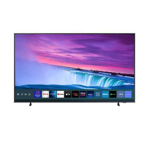 Imagem de Smart TV Samsung QLED 4K The Frame 2021 65LS03A Design Slim Molduras Customizáveis Modo Arte