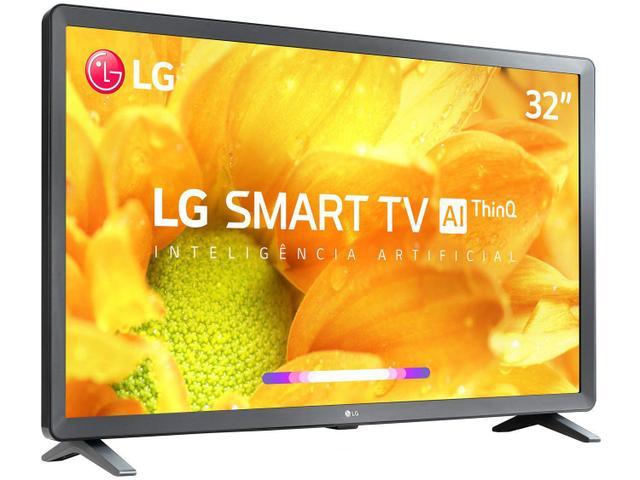 Imagem de Smart TV Tela 32 Pro LG 32LM621CBSB.AWZ HD com Conversor Digital Wi-Fi 2 USB 3 HDMI