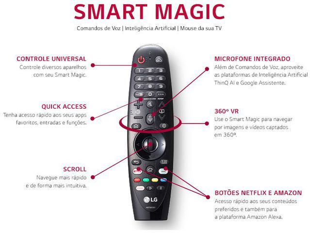 "Imagem de Smart TV UHD 4K LED 50"" LG 50UN7310PSC Wi-Fi"