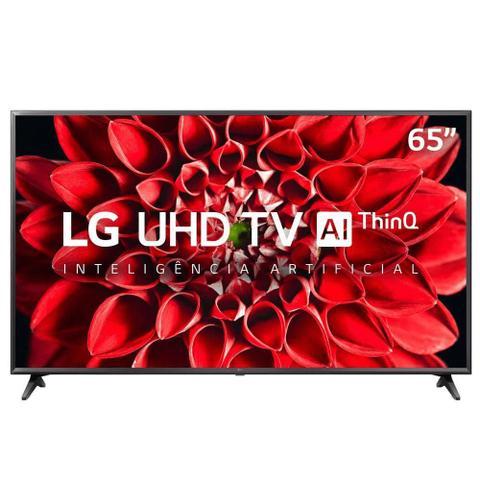 Imagem de Smart Tv Ultra Hd 4k Led 65 Polegadas Lg 65un7100psa Preto Bivolt