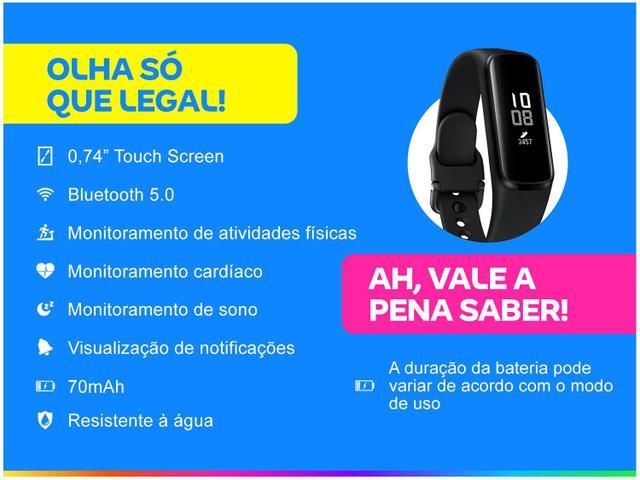 Imagem de Smartband Samsung Galaxy Fit e