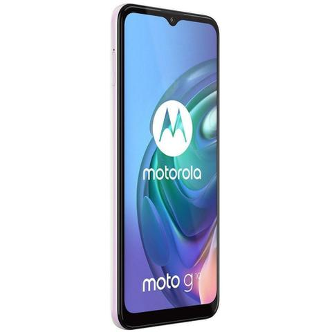 Imagem de Smartphone 64GB Motorola Moto G10 6,5 Octa Core Branco