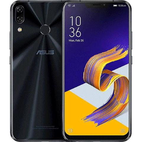 Imagem de Smartphone Asus Zenfone 5 128GB Dual Chip Android Oreo Tela 6.2 Snapdragon 636 Octacore 4G Câmera 12MP + 8MP (Dual Traseira) 3300mAh - Preto