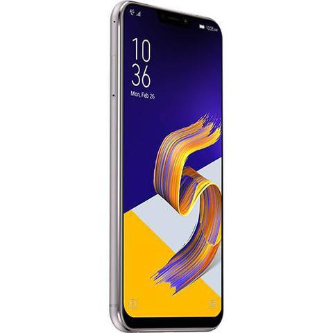 Imagem de Smartphone Asus Zenfone 5 64GB Dual Chip Android Oreo Tela 6.2 Snapdragon 636 Octacore 4G Câmera 12MP+8MP PRATA