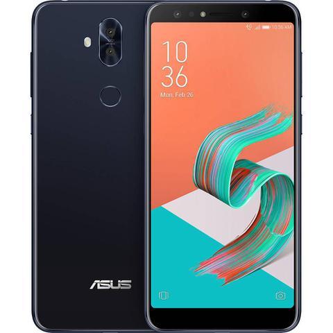 "Imagem de Smartphone Asus Zenfone 5 Selfie Pro 128GB Preto - 4GB RAM Tela 6"" Câm 16MP+8MP + Selfie 20MP+8MP"