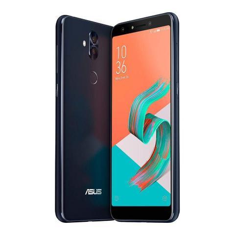 Imagem de Smartphone Asus Zenfone 5 Selfie Pro Preto 128GB Tela 6.0 4GB Ram Processador Octa Core e Android 7