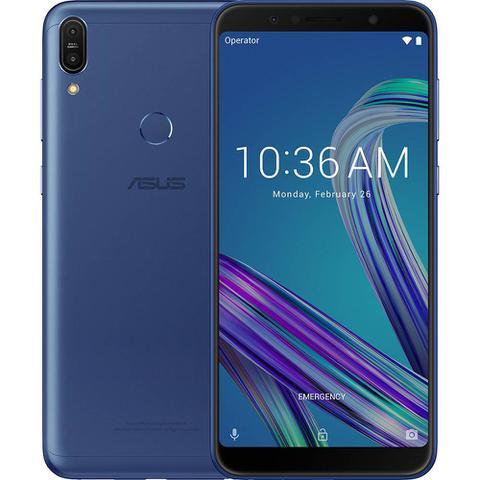 Imagem de Smartphone Asus Zenfone Max Pro (M1) 32GB Dual Chip Android Oreo Tela 6 4G Câmera 13MP 5MP Azul